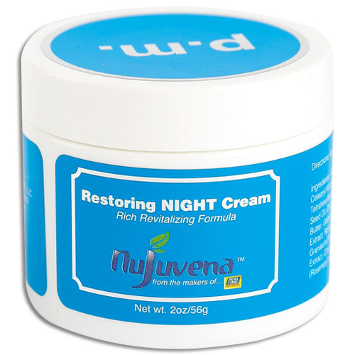 NujuVena Night Facial Cream - Oro Organic
