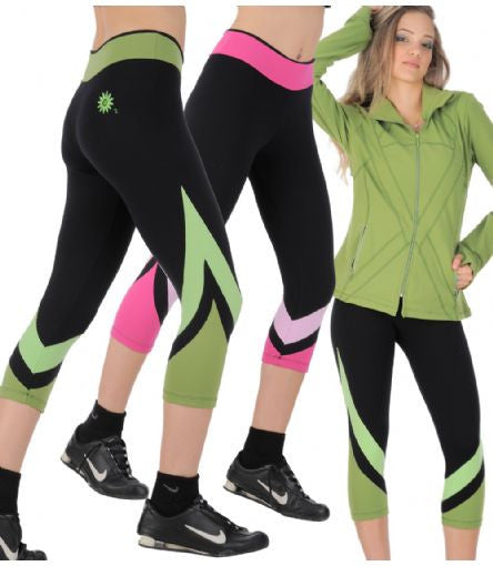 Margarita Activewear 1207T Solid Arrow Tight