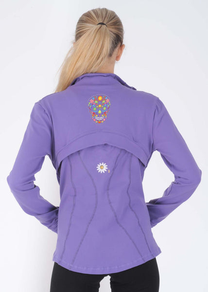 Margarita Activewear 1241 Skull Running Jacket