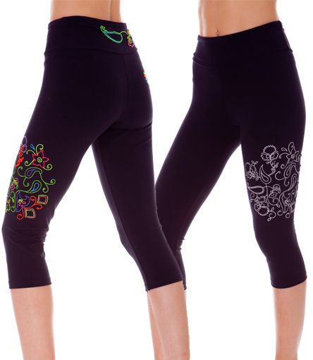 Margarita Activewear 13004T Garden Flower Tight