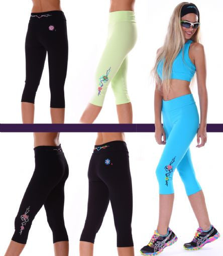 Margarita Activewear 13021T Heart & Vine Tight