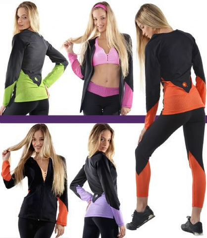 Margarita Activewear 13402 Mesh V Jacket