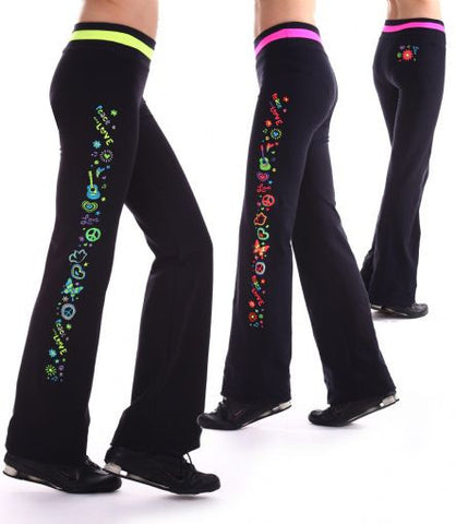Margarita Activewear 14001 Peace Love Pant