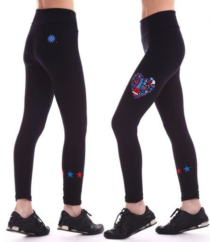 Margarita Activewear 14009TP 4th of July Legging