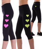 Margarita Activewear 14011T Mesh Heart Tight