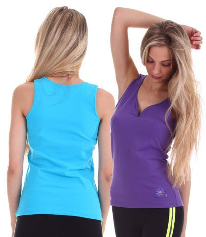 Margarita Activewear 14207 Heart Shaped Tank