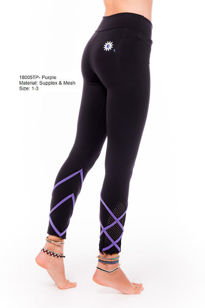 Margarita Activewear 18005TP Criss Cross Legging