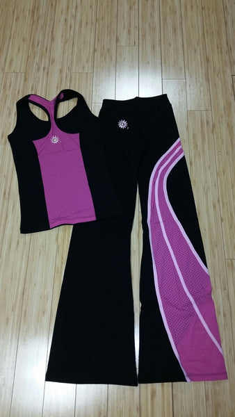 Margarita Activewear 401 Mesh Wave Pant