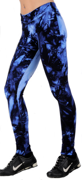Margarita Activewear 51261TP Night Tie Die Leggings
