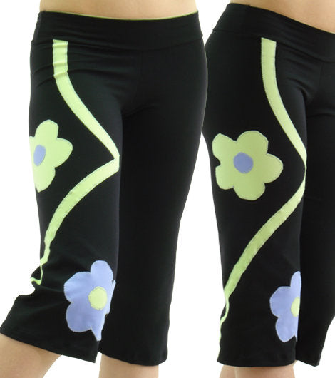 Margarita Activewear 704L Flower Capri
