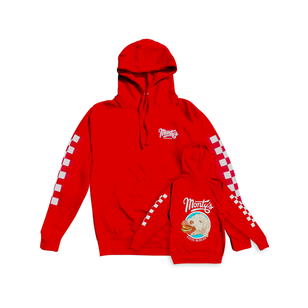 Red Monty's Hoodie
