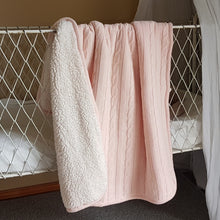 Load image into Gallery viewer, Baby Blanket - Blush Knit