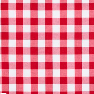 Change Mat Cover - Red Gingham