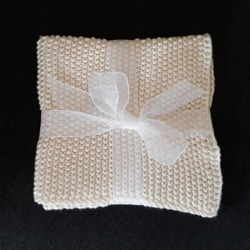Knitted Cotton Wash Cloth