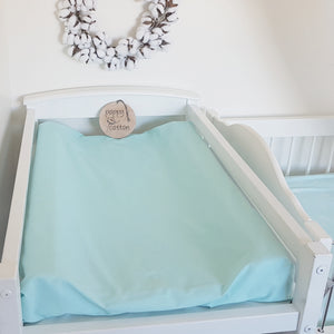 Change Mat Cover / Bassinet Sheet - Aqua