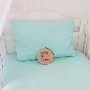 Toddler Pillow Case - Aqua