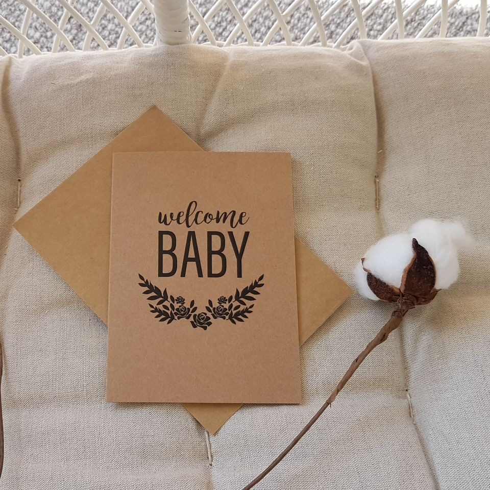 Welcome Baby Gift Card