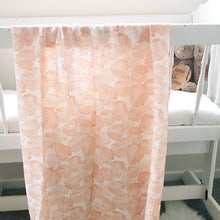 Load image into Gallery viewer, Organic Cotton Double Gauze Wrap - Peach Monstera