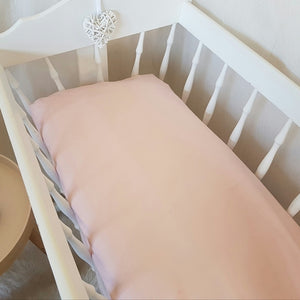 Change Mat Cover / Bassinet Sheet - Ballet Pink