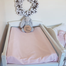 Load image into Gallery viewer, Change Mat Cover / Bassinet Sheet - Ballet Pink