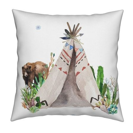 Teepee Cushion Cover