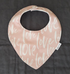 Baby Bib - Blush Love
