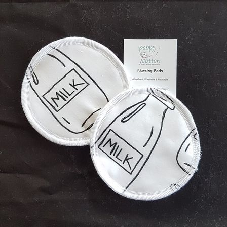 Reusable Nursing Pads - Milk