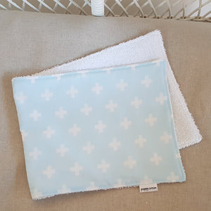 Burp Cloth - Baby Blue