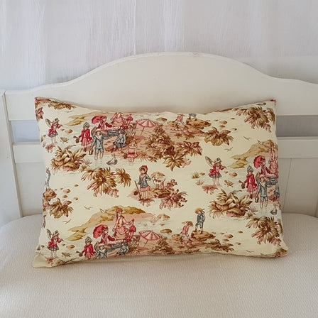 Toddler Pillow Case - French Country Toile