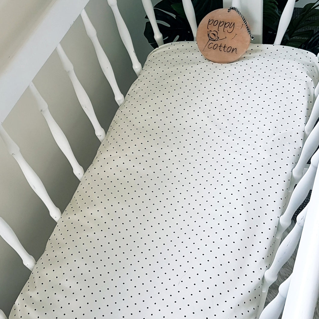 Change Mat Cover / Bassinet Sheet - French Vanilla
