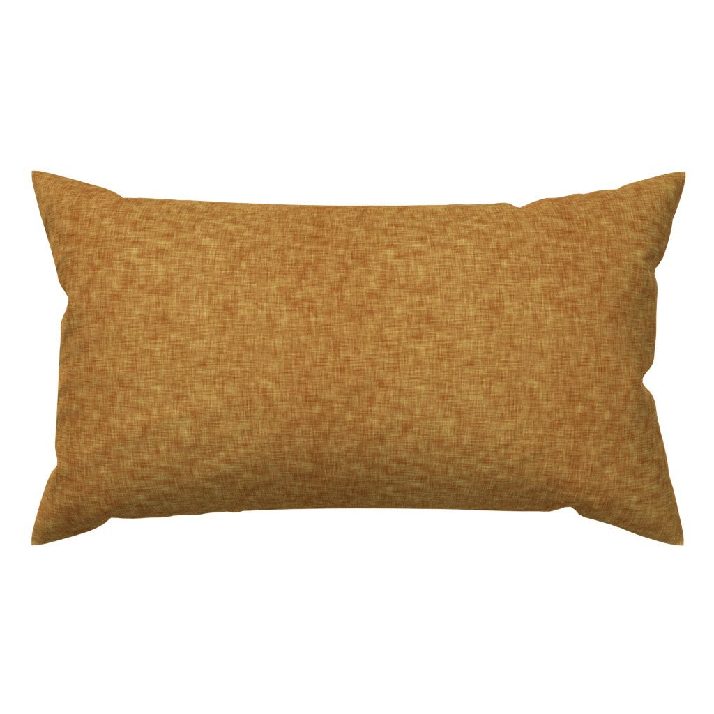 Mustard Linen Toddler Pillow Case