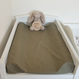Change Mat Cover / Bassinet Sheet - Olive