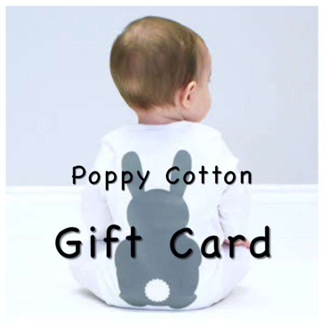 Poppy Cotton Gift Vouchers