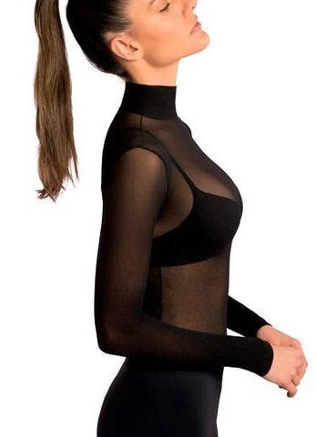 top transparente nylon