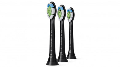 Sonicare W2 Optimal Black Standard head, Pack of 3