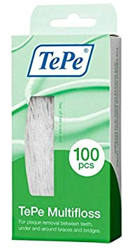 Tepe Multifloss Pack of 100