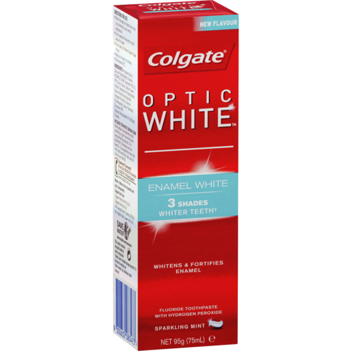 Colgate Optic White Enamel White Toothpaste 95gm
