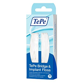 Tepe Bridge and Implant Floss pk 30