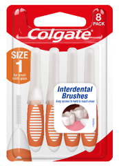 Colgate Interdental Brushes Size 1 Pkt 8