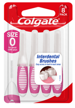 Load image into Gallery viewer, Colgate Interdental Brush Size 0 Pkt 8