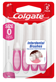 Colgate Interdental Brush Size 0 Pkt 8