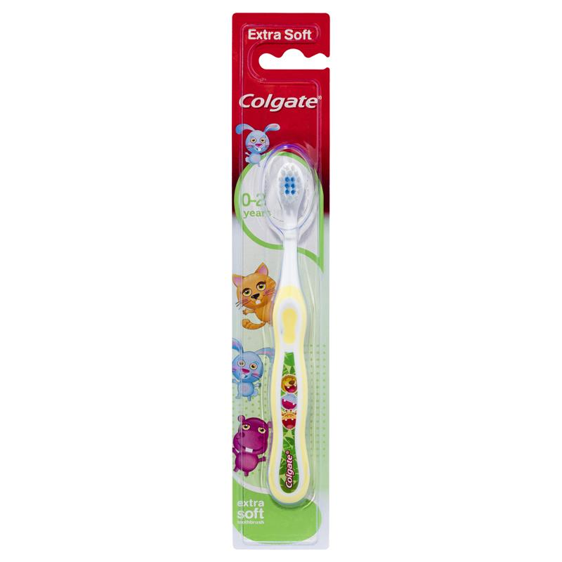 Colgate My First 0-2 years Toothbrush - Yellow