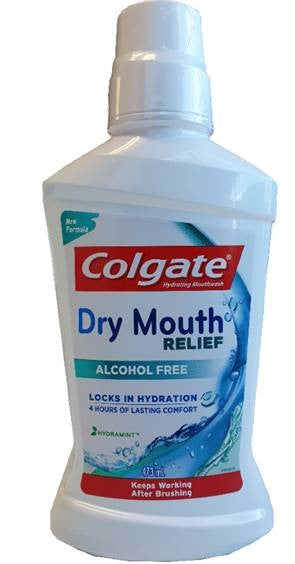 Colgate Dry Mouth Relief Mouth Wash