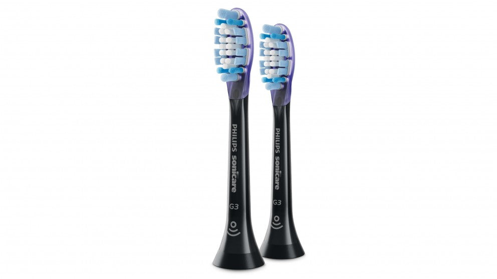 Sonicare G3 Premium Gum Care brush heads black pack of 2