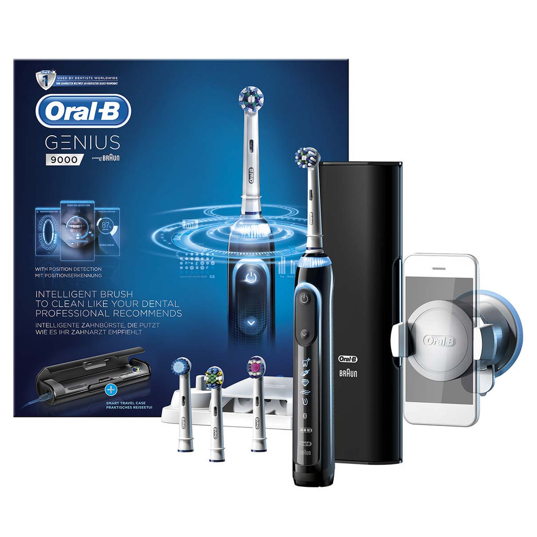 Oral-B Genius Series9000 Brush Black Electric Powerbrush
