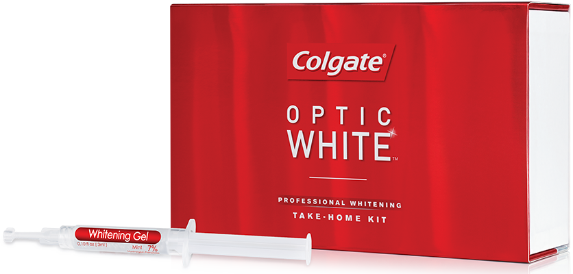 Colgate Optic White 6% Full Kit 4 Syringes