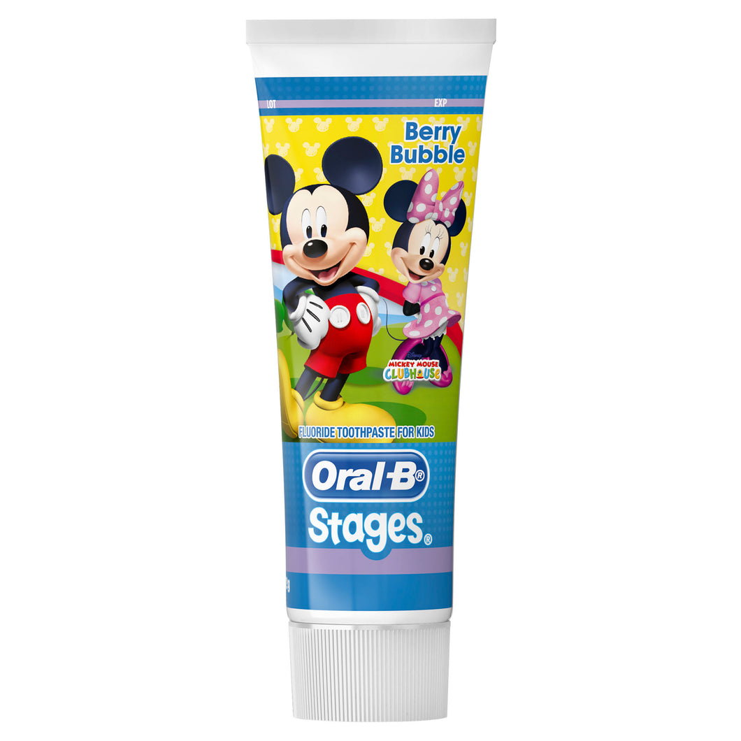 Oral B Stages Mickey Mouse Toothpaste