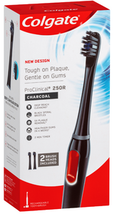 Colgate Pro-Clinical 250R Charcoal Power Toothbrush
