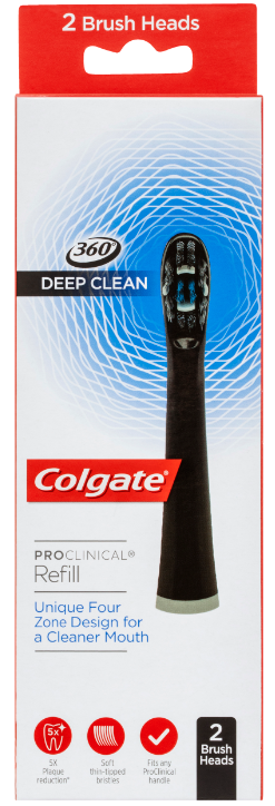 Colgate Pro-Clinical Refill Brush Heads