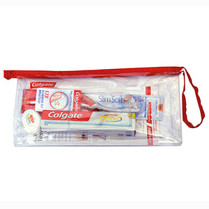 Colgate Regime Travel Bag with Slimsoft Ultra Compact Head Brush
